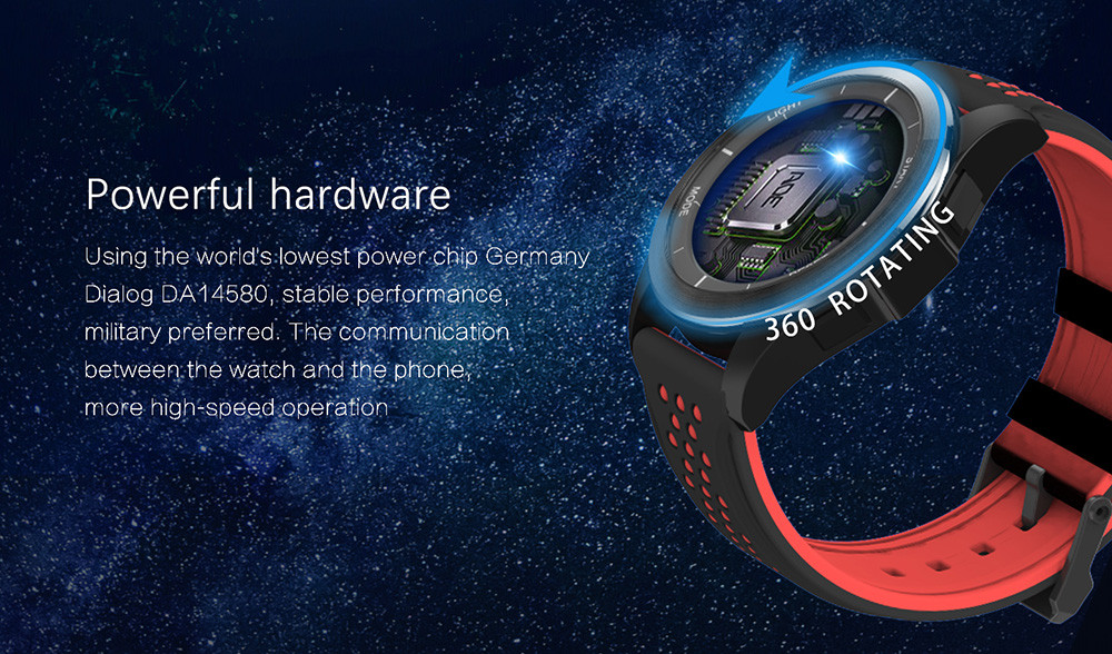 NO.1 F3 Sports Smartwatch Bluetooth 4.0 IP68 Waterproof Remote Camera Sedentary Reminder Sleep Monitor Pedometer