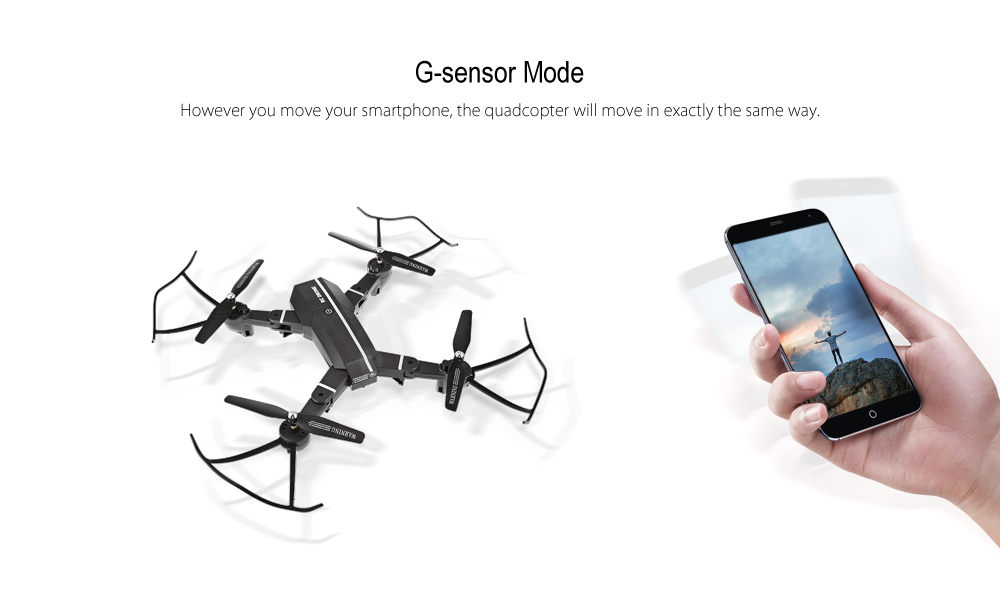 8807HD - G 2 4GHz 4CH Foldable RC Quadcopter - RTF