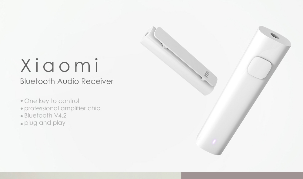 Original Xiaomi Wireless Bluetooth Audio Receiver- White