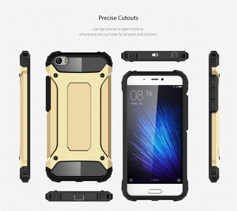 Luanke Armor Case For Xiaomi Mi 5 369 Free Shipping Brushed Carbon Hard Soft Mi5s 5s Package Contents 1 X Phone