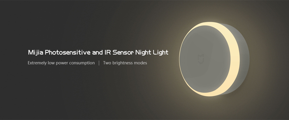 Xiaomi MiJIA Photosensitive and IR Sensor Night Light
