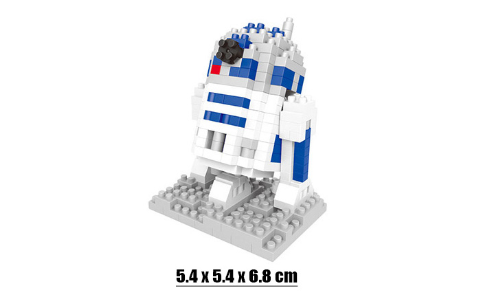 Robot Building Block Educational Movie Product Kid Toy