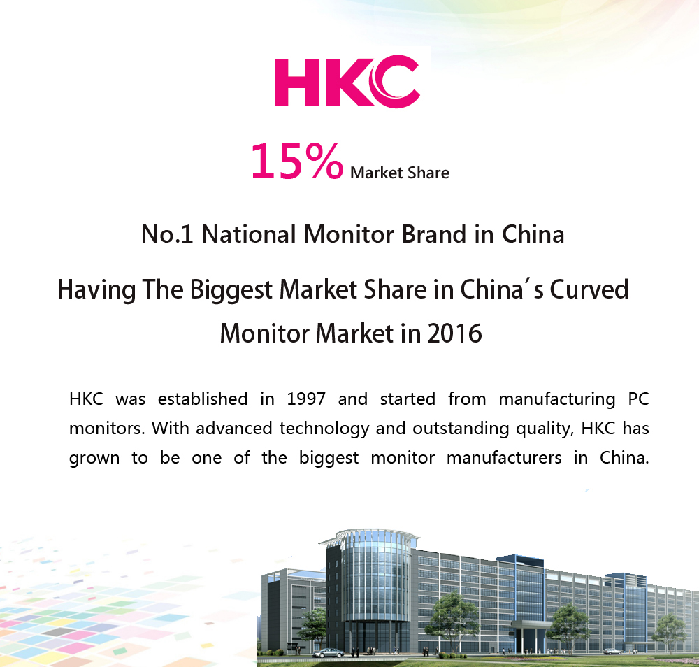 HKC C7000 27 inch Curved Screen