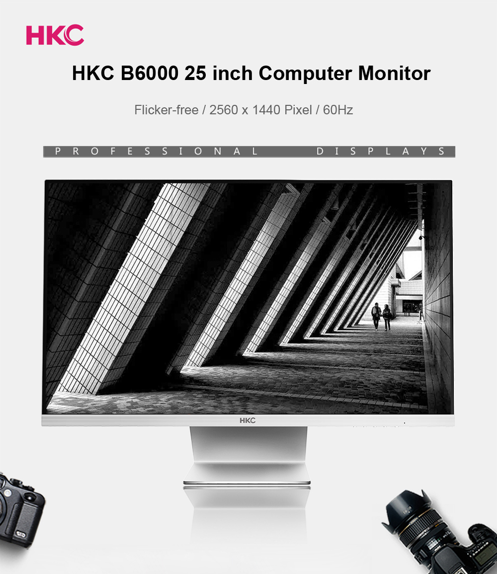 HKC B6000 25 inch IPS Screen Display Computer Monitor