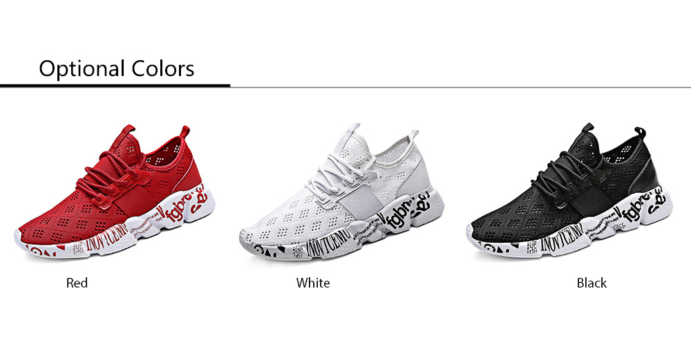 Men Durable Character Printed Running Shoes