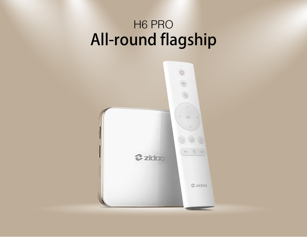 Gearbest Zidoo H6 Pro TV Box  (AllWinner H6 Quad-core) only €84.21