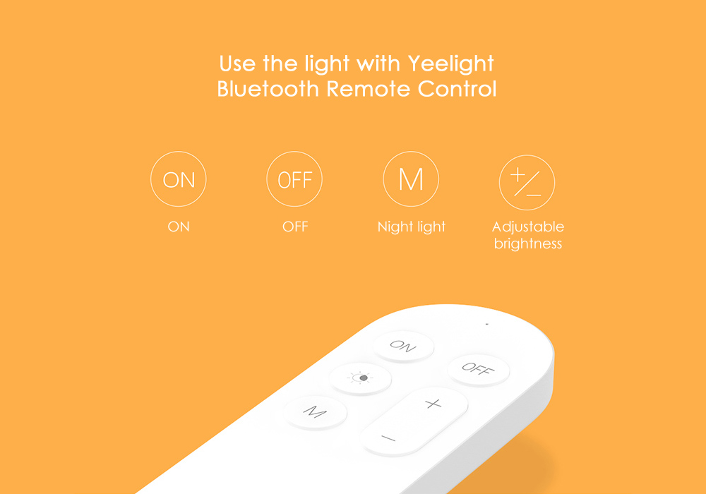 Yeelight Intelligent LED Ceiling Lamp Dust Resistance Wireless Dimming Support Google Home
