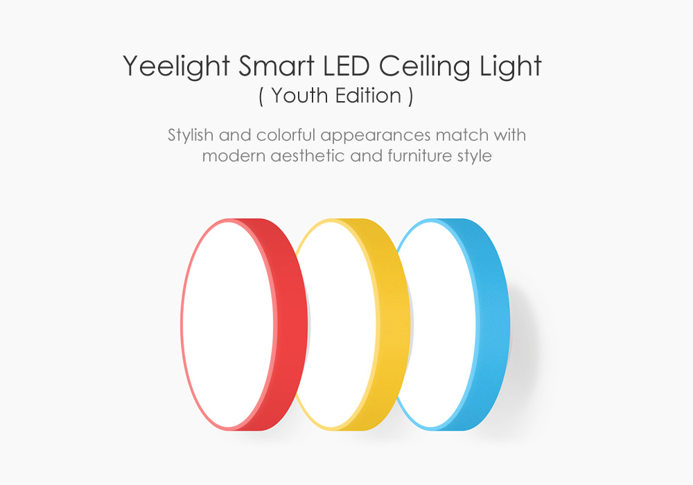 Xiaomi Yeelight Smart LED Ceiling Light Review And Coupon Code