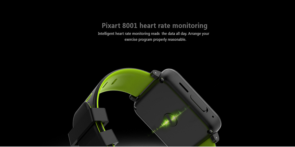 SN 10 Smartwatch Sedentary Reminder Heart Rate / Sleep Monitor Calorie Consumption Bluetooth 4.0
