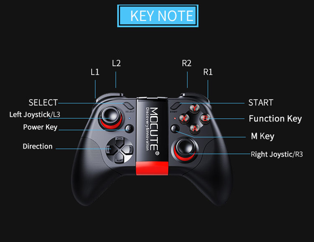 MOCUTE - 054 Game Controller Bluetooth