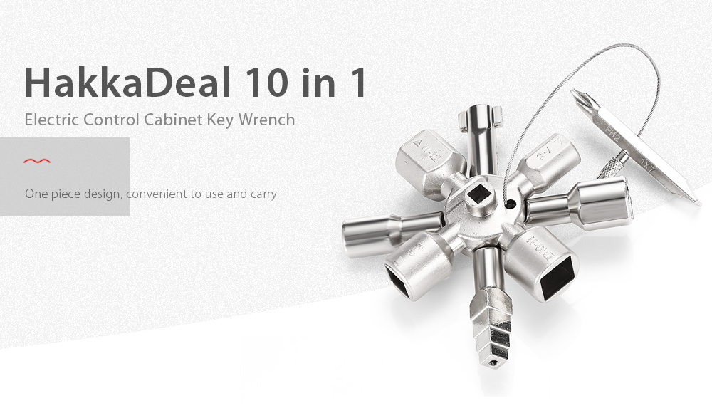 HakkaDeal 10 in 1 Electric Control Cabinet Key Wrench -$10.99 ...
