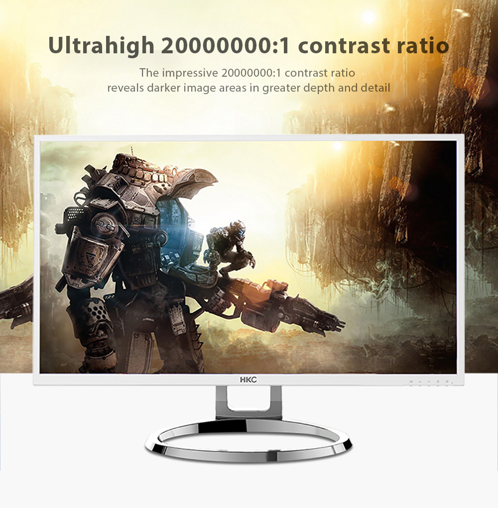 HKC Q320 Pro 31.5 inch 2K Computer Monitor with 2560 x 1440 Pixel / 60Hz