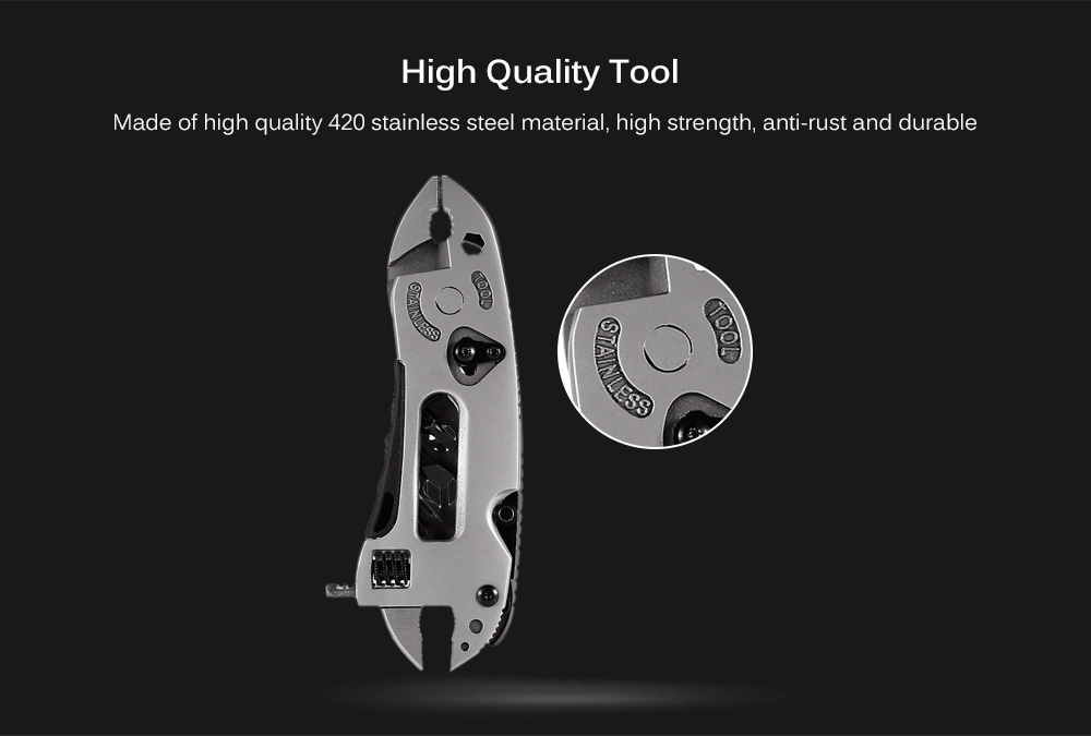 Multi-function Portable Steel Pliers Wrench Combination Tool