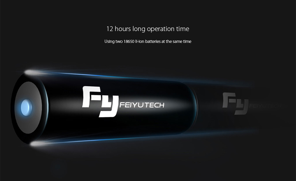FY FEIYUTECH a2000 3-axis Handheld Gimbal with Dual Handle Grip 2kg Payload Support / 12h Operation Time / Automatic Rotation + Shutter for Mirrorless / DSLR Cameras