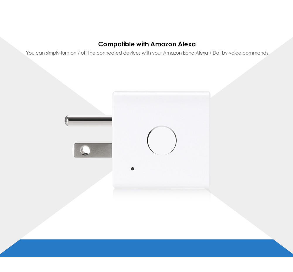 Meross MSS110 Mini Smart WiFi Plug Support Google Assistant