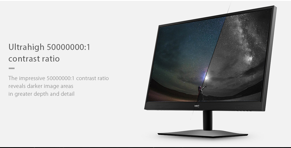 HKC M242 23.6 inch Computer Monitor with 1920 x 1080 Pixel / 60Hz