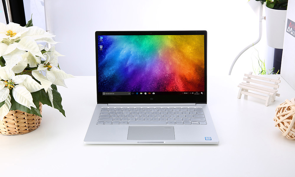 Xiaomi Air 13 Laptop 13.3 inch Windows 10 Chinese Version Intel Core i5-7200U Dual Core 2.5GHz 8GB RAM 256GB SSD Fingerprint Sensor Dual WiFi Type-C