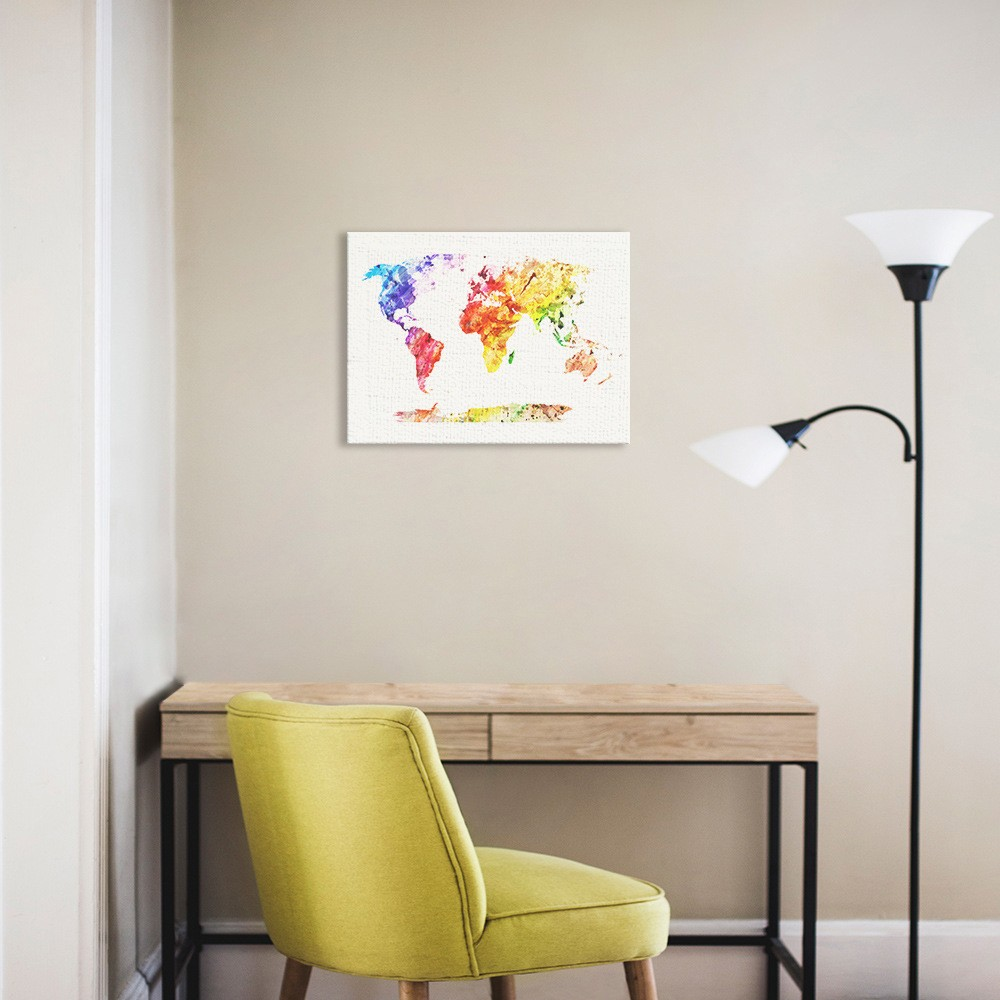 home decor online shopping worldwide world map wall decor print for home decoration 5 78 12344