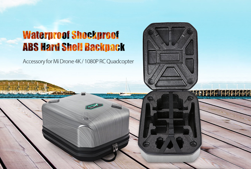 Waterproof Shockproof ABS Hard Shell Bag for Mi Drone 4K / 1080P