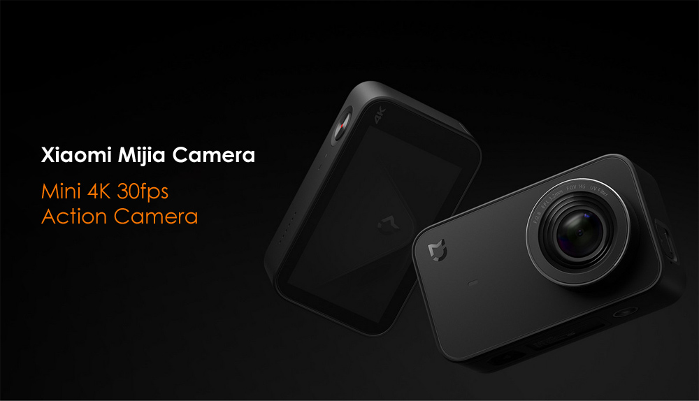 xiaomi mijia camera mini 4k 30fps action camera touch screen