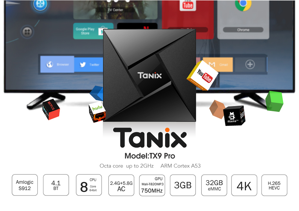 Tanix TX9 Pro Android 7.1 3GB/32GB sale with coupon! 1