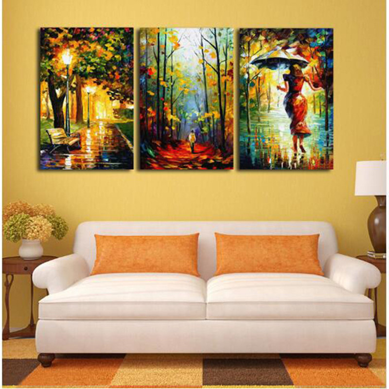 3pcs Abstract Painting Printing Canvas Wall Home Decoration - $11.36 ...