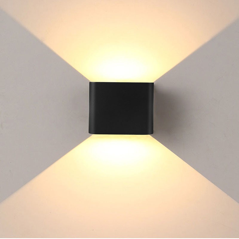 Jiawen Led Wall Lamp 6W 2835SMD Outdoor/Indoor Wall Lights Garden ...