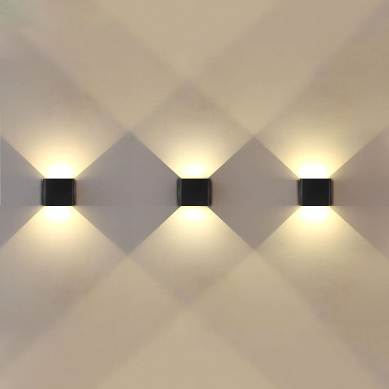 Jiawen Led Wall Lamp 6w 2835smd Outdoor Indoor Lights Garden For Living Room Corridor Decoration Lighting