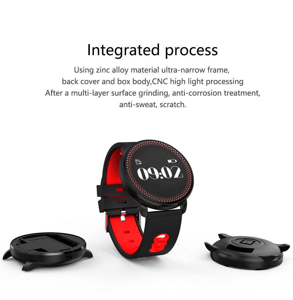 Cf007 Waterproof Smart Fitness Bracelet Tracker Heart Rate Blood Pressure Monitor Passometer Smart Band Watch Wristband