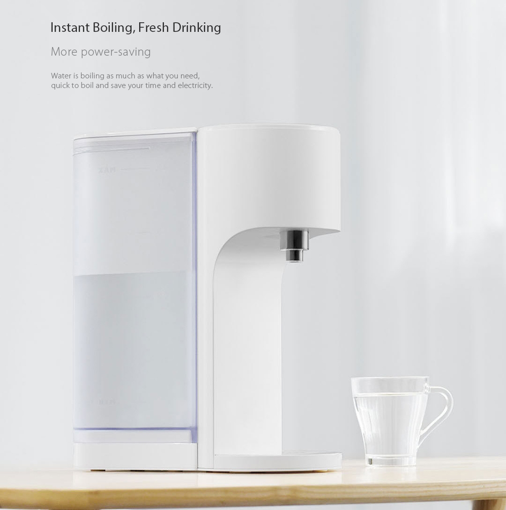 VIOMI 4L Smart Instant Hot Water Dispenser Portable Drinking Fountain APP Control Customized Temperature
