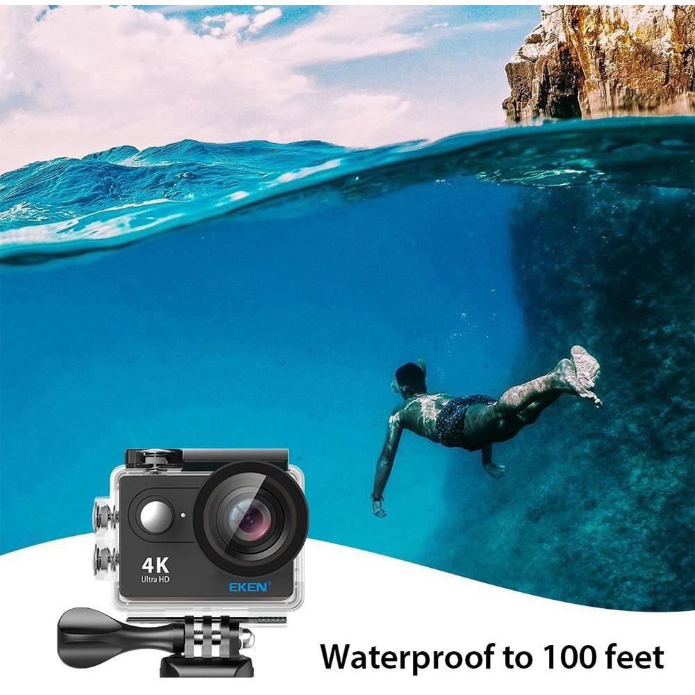 Original EKEN H9R Ultra HD 4K WiFi Action Camera