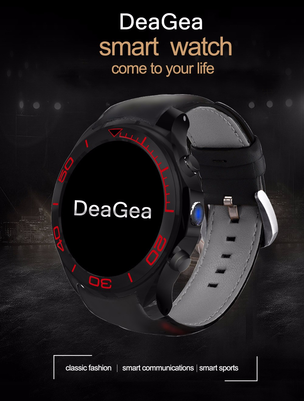 DeaGea S1 Plus 3G Smartwatch