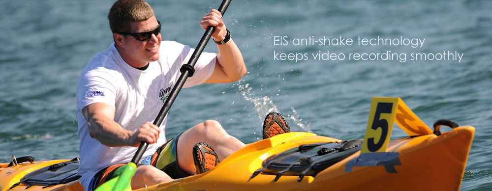 EKEN H5s 4K EIS Anti-shake Action Camera with 2 inch Touch Screen