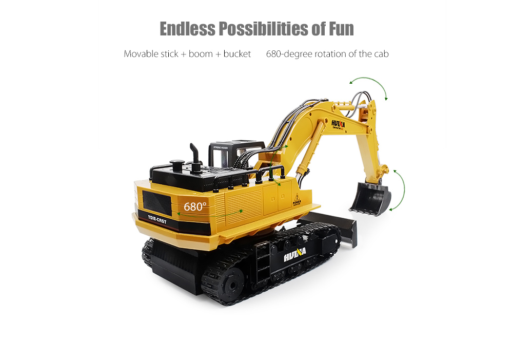 20170915181956_78781 huina toys 1510 1 16 2 4ghz 11ch rc alloy excavator rtr $34 99 Excavator Outline at edmiracle.co