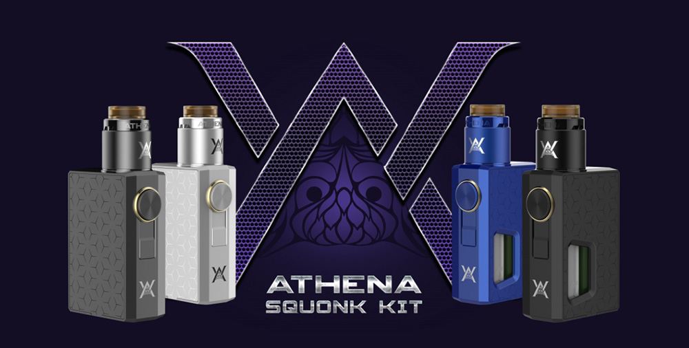 Original Geekvape Athena Squonk Kit TPD Edition with 6.5ml Juice Capacity / Supporting 1pc 18650 Battery for E Cigarette