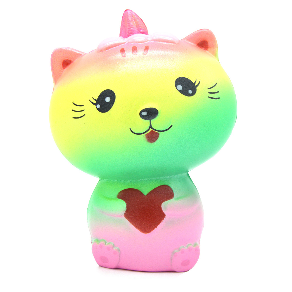 Squishy Questions : Creative Rainbow Cat Style Jumbo Squishy Toy -  USD7.13 Online Shopping GearBest.com
