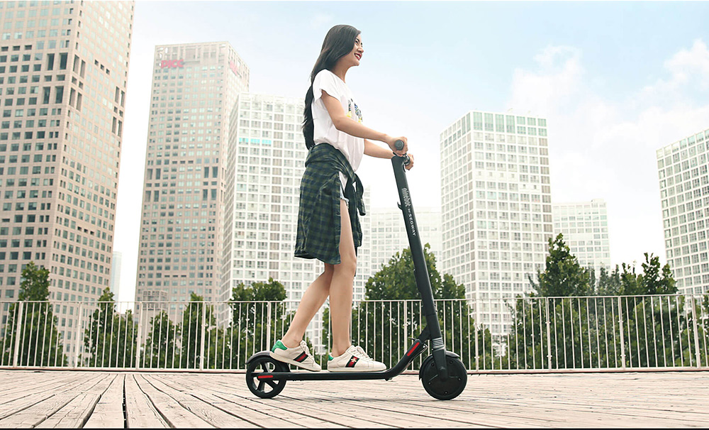 Ninebot No. 9 Folding Electric Scooter with 5.2Ah Battery 8 / 7.5 inch Tire ( Standard Version )