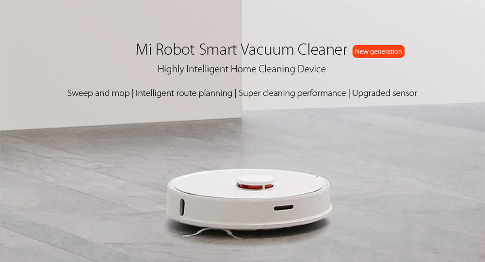 New Original Xiaomi roborock S50 Smart Vacuum Cleaner Intelligent Sensors System Path Planning