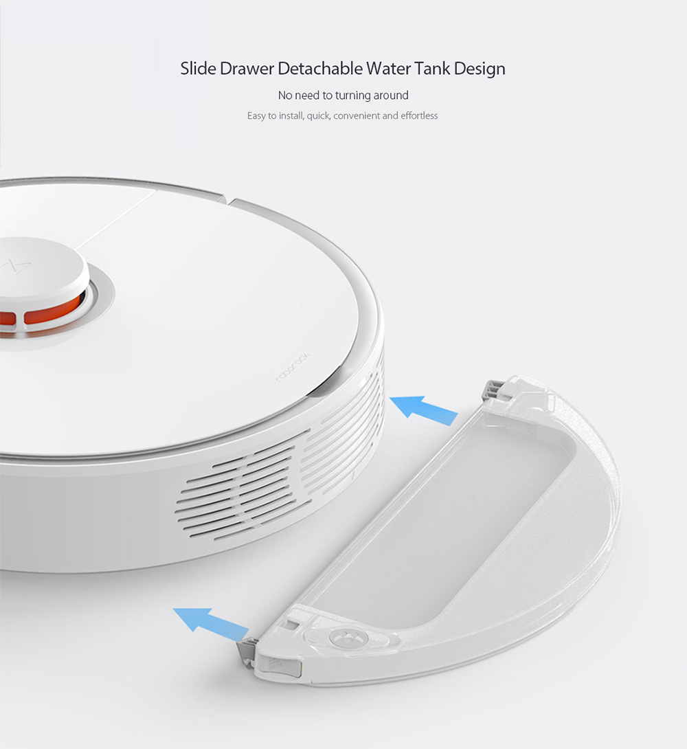 Original Xiaomi roborock Smart Vacuum Cleaner Intelligent Sensors System Path Planning