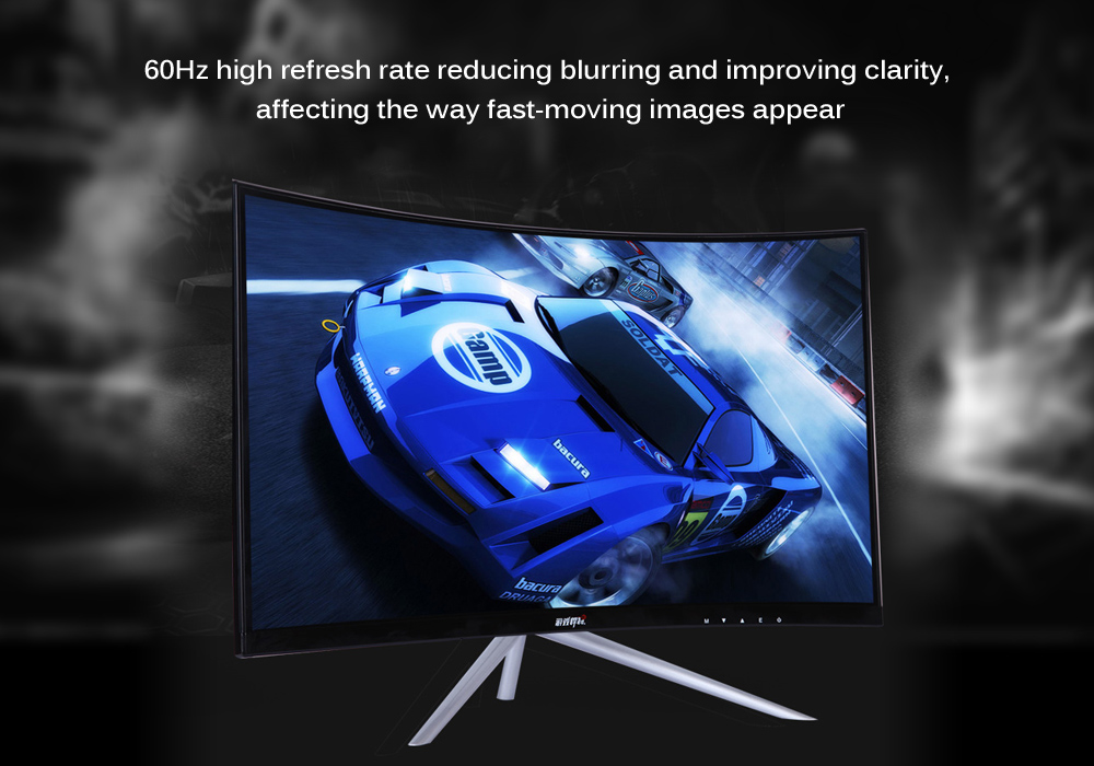 ForGame CK27FA 27 inch 1920 x 1080 60Hz 1800R Curved Screen Computer Monitor
