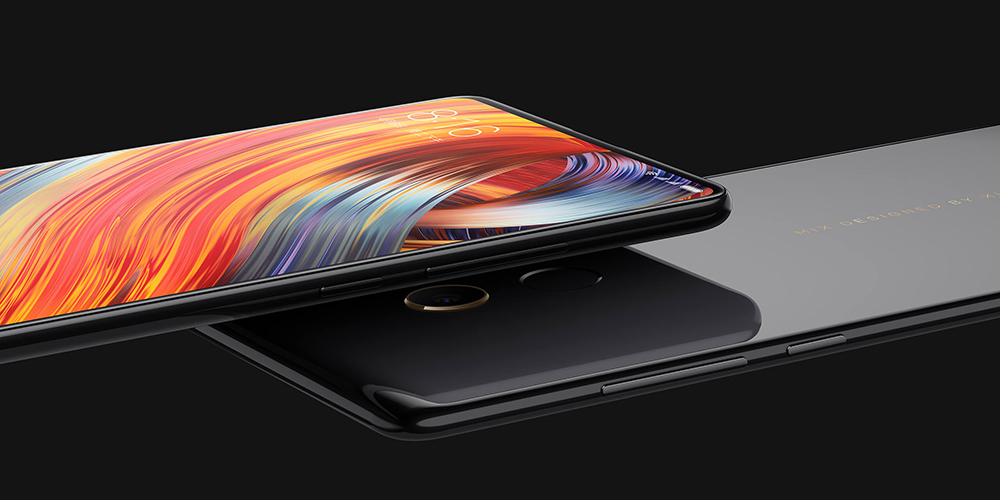 Xiaomi Mi Mix 2 4G Phablet 5.99 inch MIUI 8 Snapdragon 835 2.45GHz Octa Core 6GB RAM 64GB ROM Fingerprint Scanner 12.0MP Rear Camera