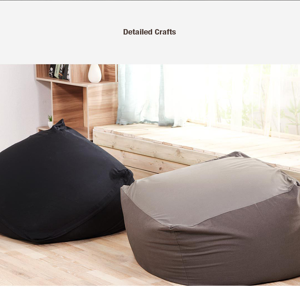 8H Lazy Casual Comfortable Sofa Multifunctional Fashionable Safe Couch Durable Soft High Bearing Cushion from Xiaomi youpin- Dark Coffee