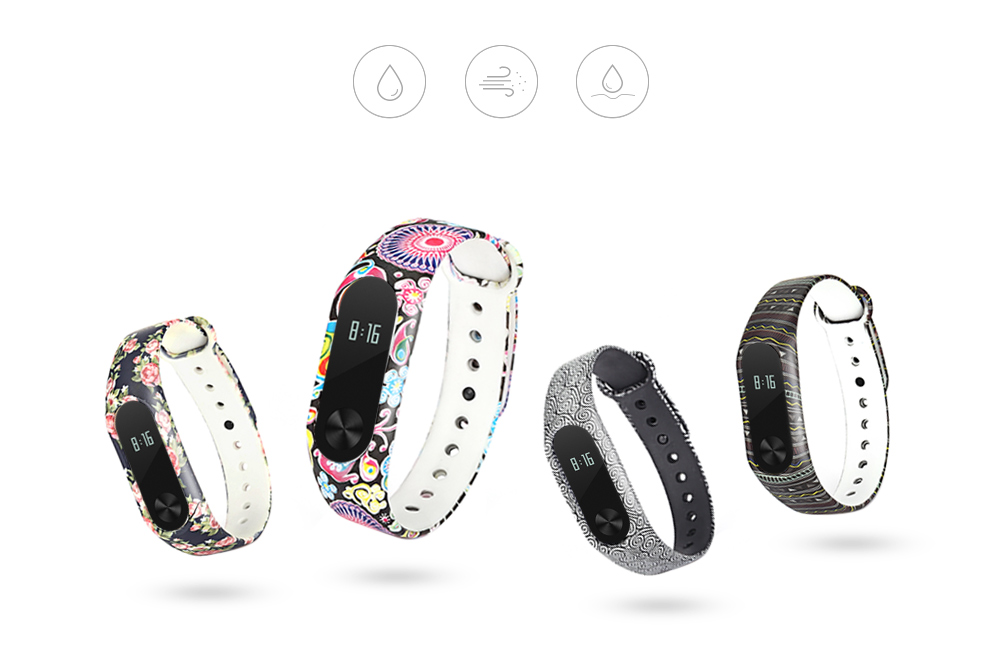 Wristband for Xiaomi Mi Band 2 TPU Material