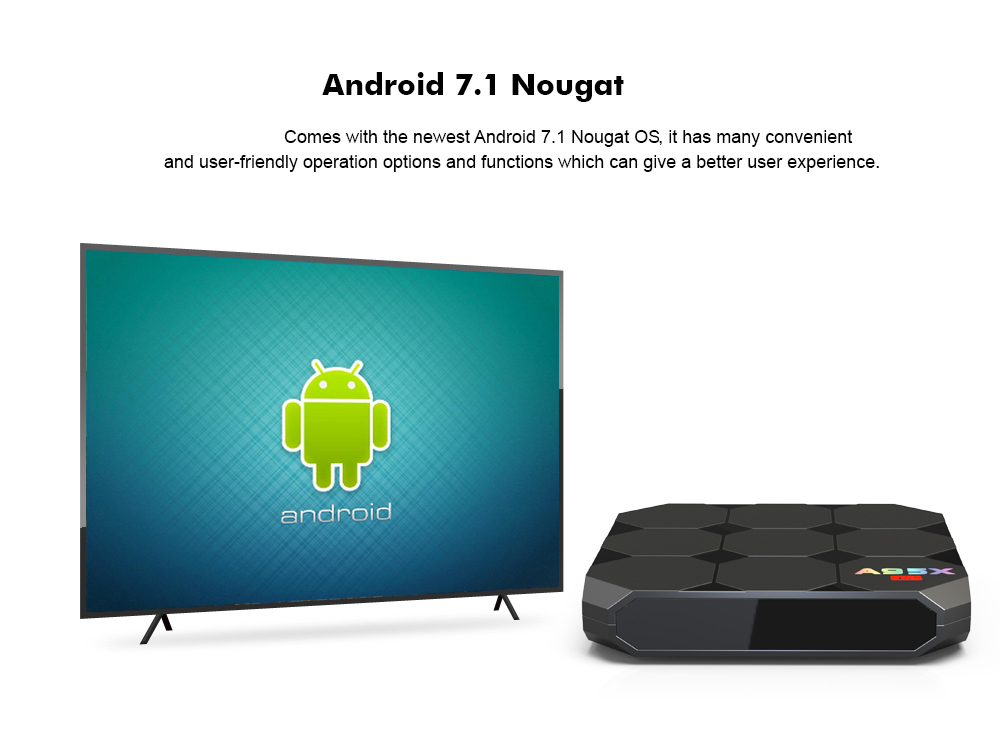Tv Box A95X R2 - Android Nougat 7.1