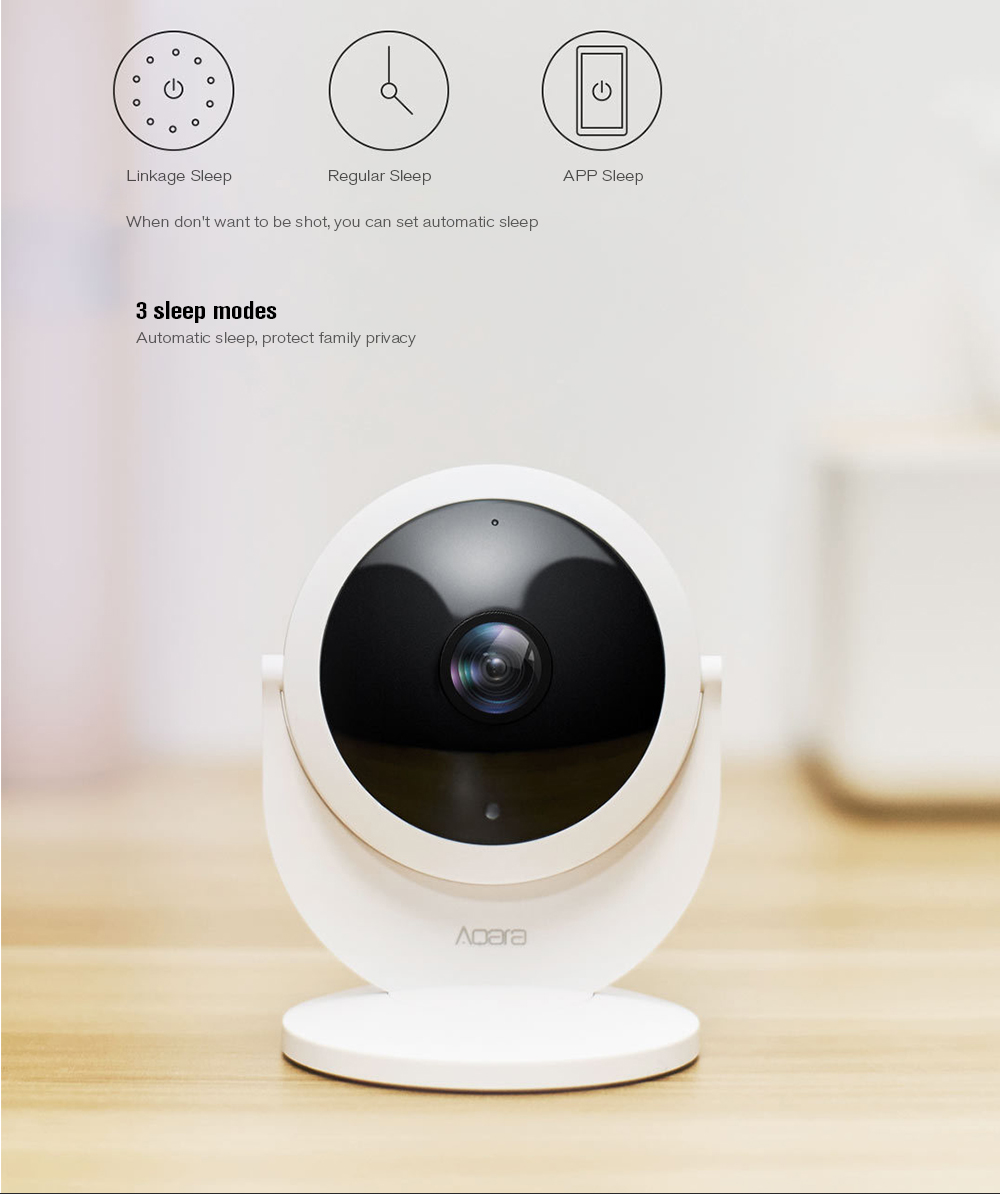 Aqara Smart Security IP Gateway Camera Monitor 1080P HD