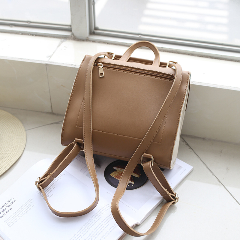 A New Style Double Shoulder Bag College Style Leisure and Multi-function Women'S Bag