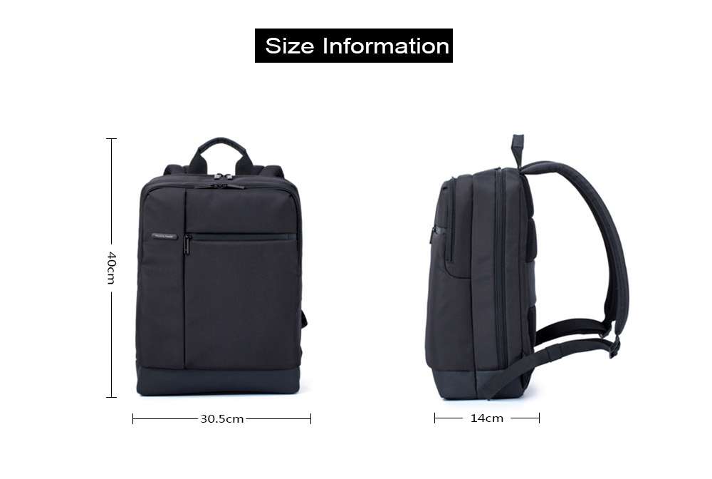 Xiaomi Classical Backpack design
