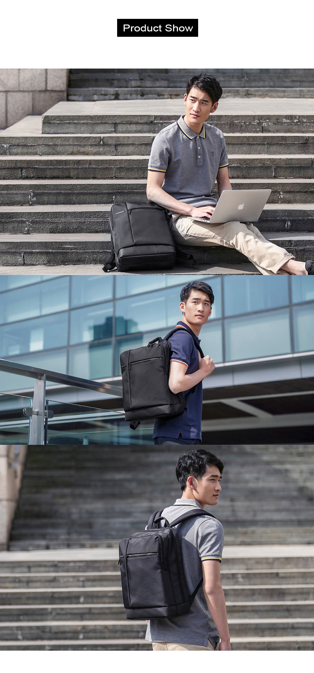 Xiaomi Classical Business Laptop Backpack for Men