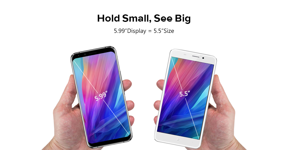 LEAGOO S8 Pro 4G Phablet Android 7.0 5.99 inch Helio P25 Octa Core 2.6GHz 6GB RAM 64GB ROM 13.0MP + 5.0MP Dual Rear Cameras Fingerprint Touch Senor Type-C