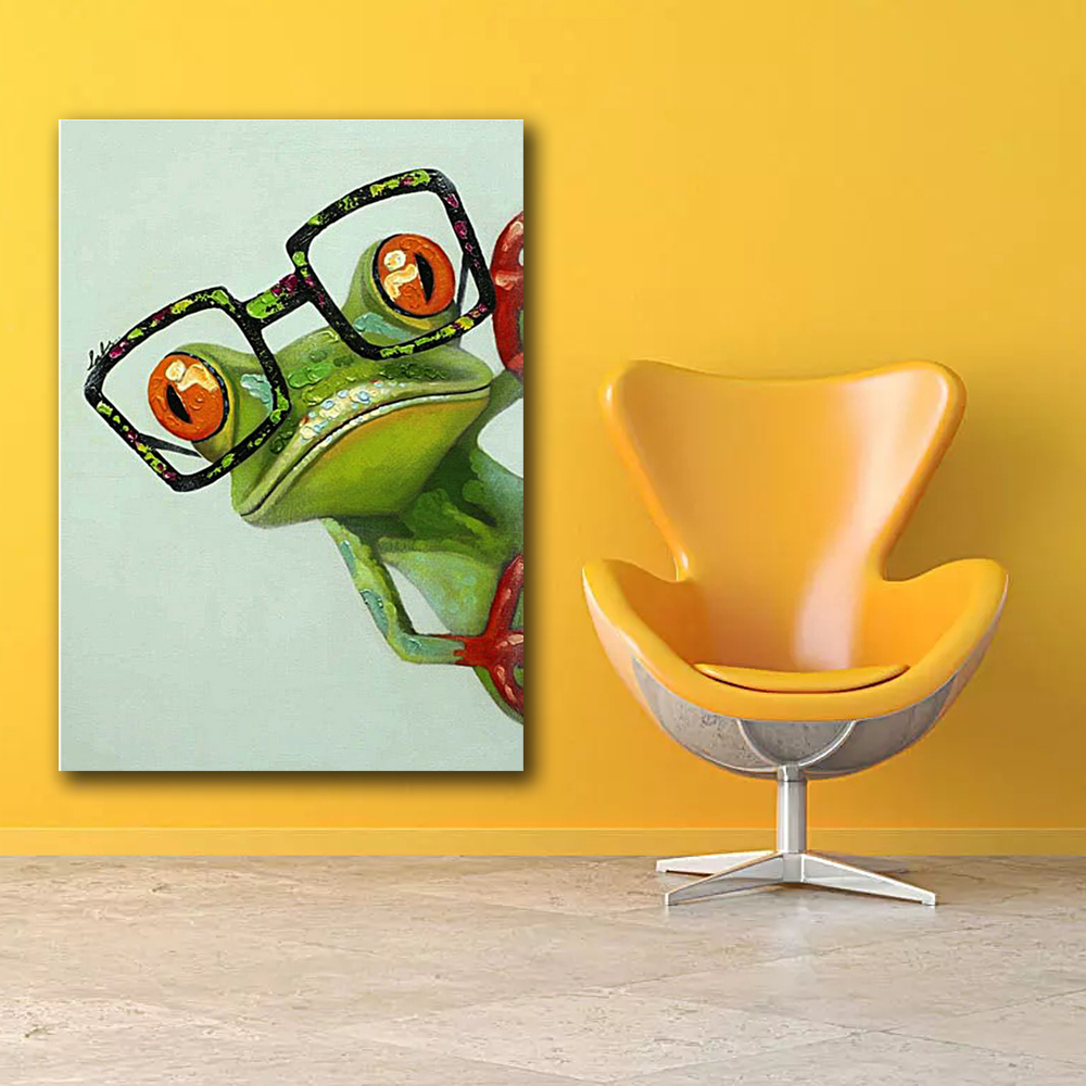 Frog Pictures Canvas Wall Art Prints 16 X 24 INCH (40CM X 60CM ...